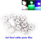10W Super Bright White/ Blue/ Green  Integrated LED COB Chip Beads Lamp Light