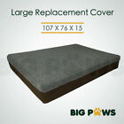 Replacement Cover for Big Paws HDD03 15cm thick Large Size Dog Bed (older model)