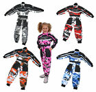 Wulfsport Kids Motocross Karting Suit Wulf MX Camo Youth Child Pants Overalls