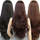 Sexy Women's Fashion Wavy Long Straight Curly Hair Full Wigs Cosplay Party Wig