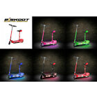 Kids Electric E Scooter Lights Up LED Ride On 120w Rechargeable Seat Glow Strip