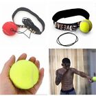Training Boxing Fight Ball W/ Head Band Fr Reflex Speed Boxing Punch Exercise EW