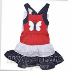 Girls Emily Rose 2 Pc Patriotic Set Top Dress & legging Outfit Butterfly 5 6