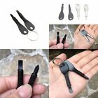 2 Keys Stainless Keychain Pocket Tool Screwdriver EDC Outdoor Multifunction