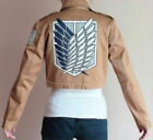 Attack on Titan Shingeki no Kyojin Scouting Legion Cosplay Coat Jacket Eren Jage