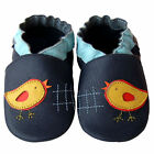 Free shipping Newborn Prewalker Soft Sole Leather Baby Shoes Chick Navy 0-5 yrs