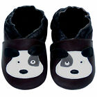 Free shipping Newborn Prewalker Soft Sole Leather Baby Shoes Puppy Brown 0-5 yrs