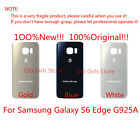 Back Glass Cover Battery Door Rear Panel for Samsung Galaxy S6  Edge AT&T G925A