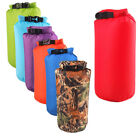 Waterproof 8L 15L Dry Bag Canoe Kayak Boating Camping Swimming Hiking Sack Bag