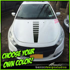 Hood Racing Stripes Blackout Graphics - Fits 2013-2016 Dodge Dart $49.99 USD on eBay