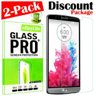 "2-Pack ""LSP"" Premium Tempered Glass Screen Protector Guard Shield For LG Phone"