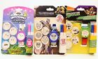 LCD Watch & Marker Gift Set Color Your Own Discs TMNT, Transformers, Hatchimals
