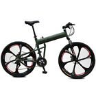 "Mountain Bike Folding Bicycle Cycling 21 Speed 26"" / 700CC Unisex Adult SHIMANO"