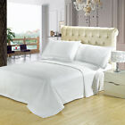 Luxury Checkered Quilted Wrinkle Free Microfiber 3 Piece Coverlets Set 9 Colors!