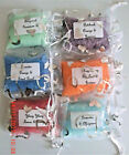 50g Aromatherapy essential oil bath salts in organza pouch gifts parties