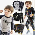 "Vaenait Baby Toddler Kids Boy Clothes Sleepwear Pajama Set ""Dinosaur Set"" 12M-7T"