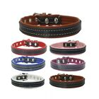 DOG COLLAR PUG FRENCH SMALL  ADJUSTABLE CHIHUAHUA TOY LEATHER SMALL JACK