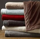LAST 2 REMAINING -Restoration Hardware Luxury Plush Throws SOLD OUT - NWT & BAG