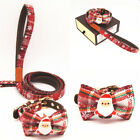 Adjustable Lovely Christmas Cat Dog Neck Bowtie Bowknot Bell Bow Tie Collar Cute