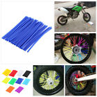 Wheel Spoke Wraps Kit Rims Skins Covers Guard Protector For Motorcycle Colors