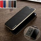Luxury Slim Leather Flip Card Wallet Stand Case Cover For iPhone X 8 7 Plus S001