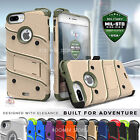 IPhone 8, 6, 6s,7 Plus Case Heavy Duty Easy Unlocked Protect Holster Cover -Zizo