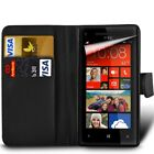 BQ Aquaris (Various Models) - Card Slot Book Style Wallet Case Cover with SP