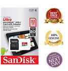 Premium Sandisk ULTRA 16GB 32GB SDXC Class 10 Micro SD Memory Card +Adapter