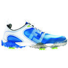 New Mens FootJoy FJ Closeout Freestyle 57340 White / Blue Golf Shoes