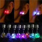 1PC Hot Women Cute LED Light Up Crown Glowing Ear Stud Fashion Earring Gift