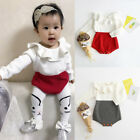 Kids Girls Baby Knitted Sweater Winter Princess Romper Jumpsuit Clothes Cute Set