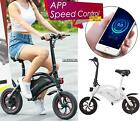 Folding 350W Electric Bicycle E Bike Scooter 36V W/12 Mile Range & APP Control !