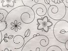 DOTTY BLACK  VINYL PVC OILCLOTH WIPE CLEAN TABLECLOTH CO click for sizes