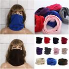 Winter Women Men Warm Ring Circle Cable Knit Cowl Neck Unisex Long Scarf Shawl