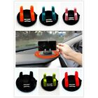 6 colors PC Silicone Car Desktop Mount For GPS Phone Portable Easy Install EW