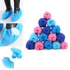 100pcs Boot Covers Fabric Disposable Shoe Covers Medical Indoor Carpet Floor