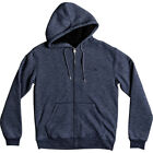 Quiksilver Everyday Sherpa Mens Hoody Zip - Navy Blazer Heather All Sizes