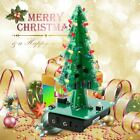 DIY 3D Christmas Tree LED Kit Red Green Yellow LED Flash Circuit Parts Lot ~#IS