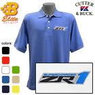 ZR1 Corvette Embroidered Men's Cutter & Buck Ace Polo Shirt BDZREP8023