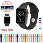 For Apple Watch Series 3 38mm / 42mm Soft Silicon Wrist Band Rubber Strap
