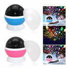 UK SELL LED Starry Night Sky Rotating Projector Lamp Star Light Romantic Lamp
