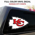 Kansas City Chiefs Decal Sticker Graphic, Car Truck - 2 Sizes $7.95 USD on eBay