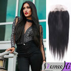 "Peruvian invisible halo Full Lace Closure Virgin Human Hair 13""x4""  Ear To Ear"