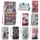 Bling Flip Leather Card Stand Case Wallet Cover For iPhone SE 6 6S 7 8 Plus X