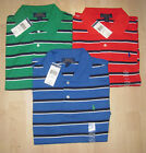 Polo Ralph Lauren Boys Striped Polo Rugby Shirt NWT $34 Youth Size Large (14-16)