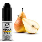 Pear E Liquid by V4POUR Juice 10ml in 0mg,3mg,6mg,12mg and 18mg Nicotine