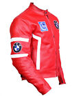 BMW Motorcycle Leather Jacket Racing Motorbike Cowhide Cruiser Jacket Armors