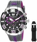 Technomarine Men's Black Reef 500M Chronograph 45mm Watch - Choice of ColorWristwatches - 31387