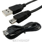 50CM 1M 1.2M 2M USB 2.0 A Male To USB 5 Pin B Camera Data Charging Cable Lead UK
