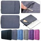 thin denim fabric - Denim Fabric Laptop Sleeve Case Carry Bag Cover For 14